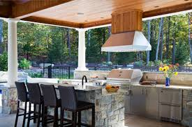 beyond the grill u2013 tips for designing an outdoor kitchen