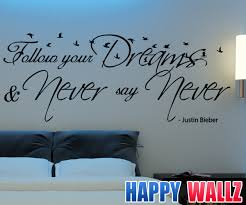 wall decals for teenage girls bedroom inspirations including teen quotes decorations wall decals for teenage girls bedroom gallery with justin bieber decal follow your picture