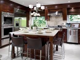 glass countertops kitchen island dining table lighting flooring