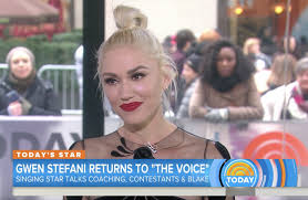 Today Show by Gwen Stefani
