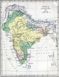 Map Of Time Map Of India In 1760