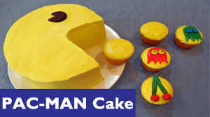 how to make a pac man cake and pacman cupcakes youtube