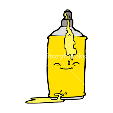 cartoon beer bottle cartoon spray paint can royalty free stock image storyblocks