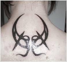 wonderful black back moon tattoomagz