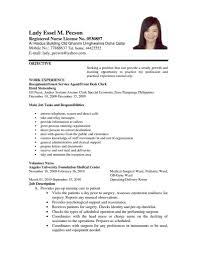 lvn resume examples sample resume for registered nurse with no experience lvn resume sample resume for nurses job resume samples sample of curriculum vitae for nurses resume templates for