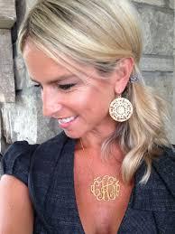 large monogram necklace codi the boutique monogram necklaces