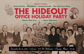 Funny Save The Date You U0027re Invited To The Hideout Office Party Zulkey Com