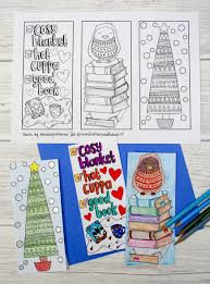 winter colouring bookmarks mum in the madhouse
