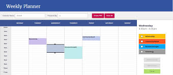 time management weekly planner template weekly planner using angularjs and pdfjs by dcoderx codecanyon weekly planner using angularjs and pdfjs