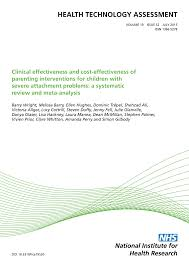 clinical effectiveness and cost effectiveness of parenting