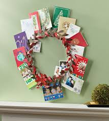 our greeting card holder wreath 25 00 is a great way to display