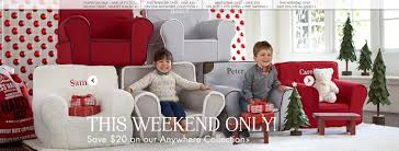 pottery barn kids black friday pottery barn kids anywhere chair sale