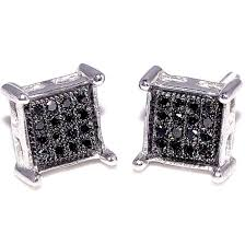 mens black diamond earrings cheap black diamonds earrings for men find black diamonds