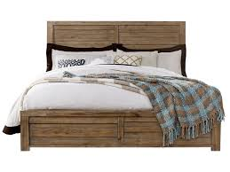 samuel lawrence soho queen bed with plank style headboard royal