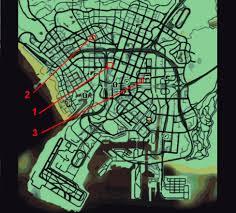 Gta 5 Map Grand Theft Auto 5 Hauptmission Nagelbretter Gauntlet 1 3