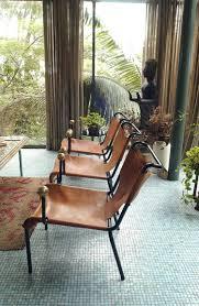 Bossanova Contemporary Leather Dining Room Lina Bo Bardi Slingback Chair Space Facade Pinterest