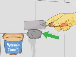 how to repair leaking tie rod holes in a poured concrete basement wall