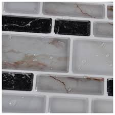 Peel N Stick Backsplash by Peel N Stick Kitchen Backsplash Tiles Stone Brick Pattern Wall