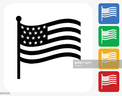Flag Graphics Envelope Icon Flat Graphic Design Vector Art Getty Images