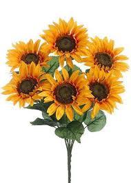 wedding flowers sunflowers artificial sunflowers sunflower weddings silk flowers at afloral