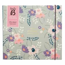 busy b pretty birthday card book calendar club uk