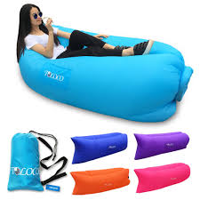 Outdoor Dream Chair Toloco Outdoor Inflatable Lounger Nylon Fabric Beach Lounger