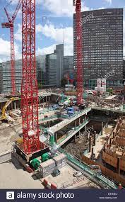construction of the nova victoria development in london uk showing