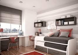 red fabric mattress cover black minimalist wooden divan bed