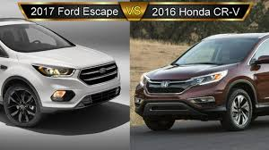 Ford Escape Trunk Space - 2017 ford escape vs honda cr v by the numbers youtube