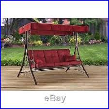 outdoor reclining reclining swing chair canopy patio seat daybed
