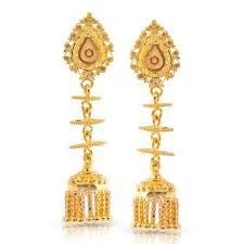 gold jhumka earrings design with price 19 jhumkas gold earrings designs buy jhumkas gold earrings price