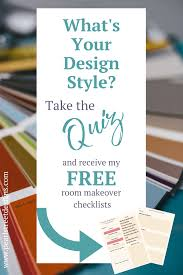 Home Decor Styles Quiz by Design Style Quiz Pearl Street Designs