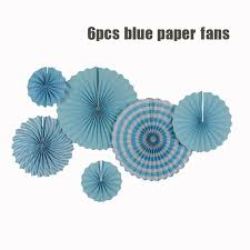 hanging paper fans 2pcs 8 2pcs 12 2pcs 16 hanging paper fans for party birthday
