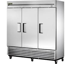 T 72 Interior Food Service Equipment T 72 Refrigerator Reach In Three Section