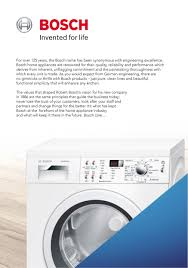 Bosch Clothes Dryers Bosch Homepage