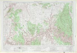 Arizona Maps by Grand Canyon Topographic Maps Az Usgs Topo Quad 36112a1 At 1