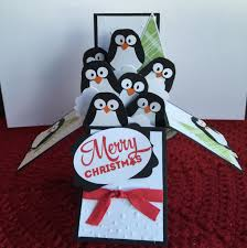 penguin box card made from the stin up owl punch