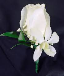 orchid boutonniere white and orchid boutonniere swenson silacci flowers