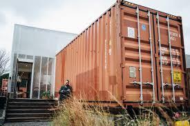 the shotgun container home weird homes tour