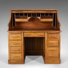 roll top desk tambour antique roll top desk english oak victorian lock tambour c 1900