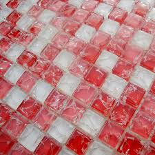 glass mosaic tile bathroom wall tiles