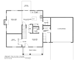 plain simple house blueprints with measurements plans home design