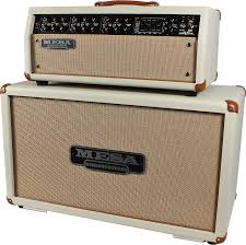 Custom Head Cabinet Mesa Boogie Mark V Custom Head Horizontal Cab Cream Bronco