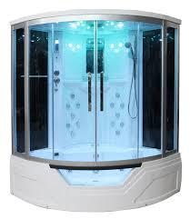 Whirlpool For Bathtub Portable Bath Ws 703 Steam Shower Enclosure W Whirlpool Bathtub Combo Unit