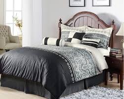 Grey Comforters Queen Comforter Black And Gray Comforters Queen Gray And Black Black