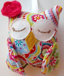 personalized owl christmas ornament by whiteblossomboutique