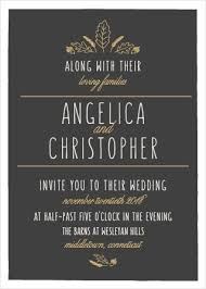 fall wedding invitations fall wedding invitations match your color style free