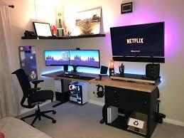 Gaming Desk Pad Gaming Computer Desk Setup Desk Workstation Desk Pad Leather Desk