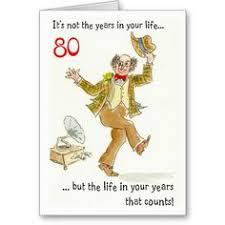 do 80 greatly watercolour birthday card 80th birthday card