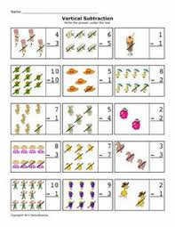 free math worksheets subtraction differences 0 10 horizontal